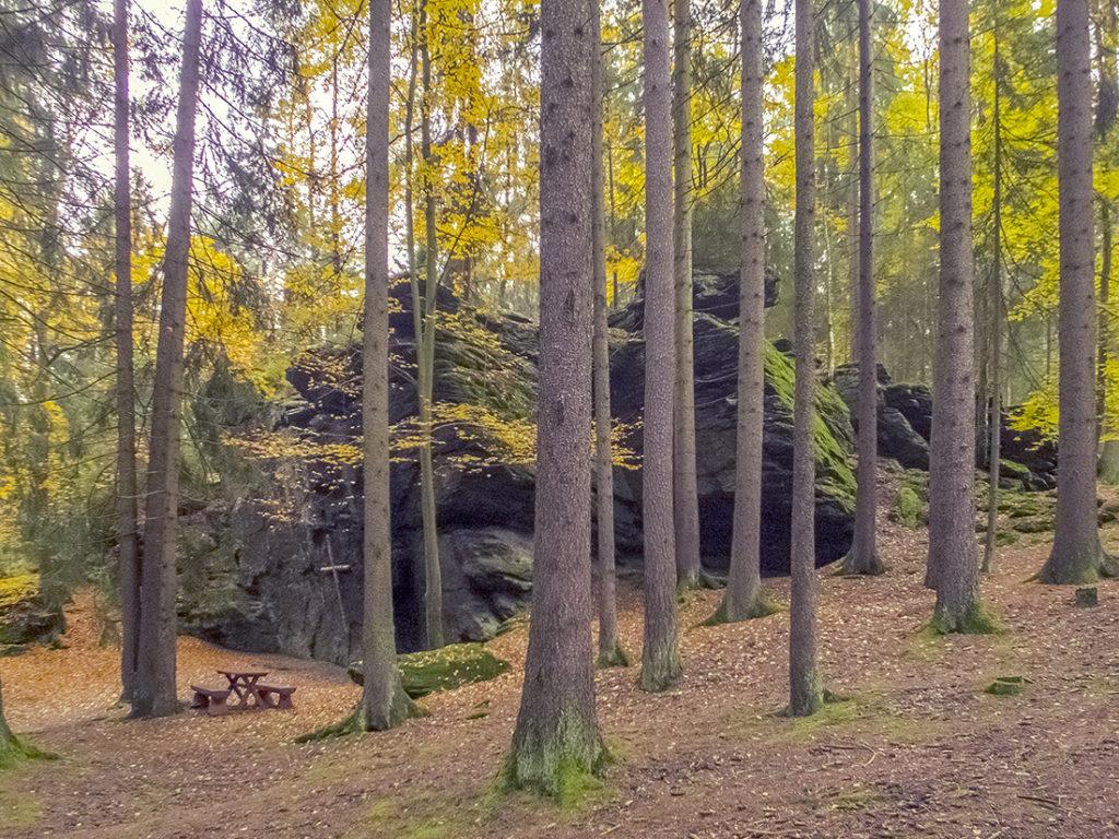 Am Ringelfelsen (Rinnlstein)