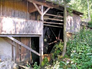 Wasserrad der Rennermühle